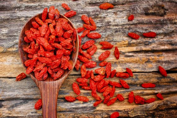 """Goji"" comes from the Chinese (gǒuqǐ) and is very highly valued in the traditional Chinese medicine since ancient times. It grows in the foothills of the Himalayas. Not coincidentally, a legend exists in China that the Himalayan centenarians regularly eat goji berries. BA YAN KA LA uses Ecocert Certified Organic Goji Berry in its body care range."