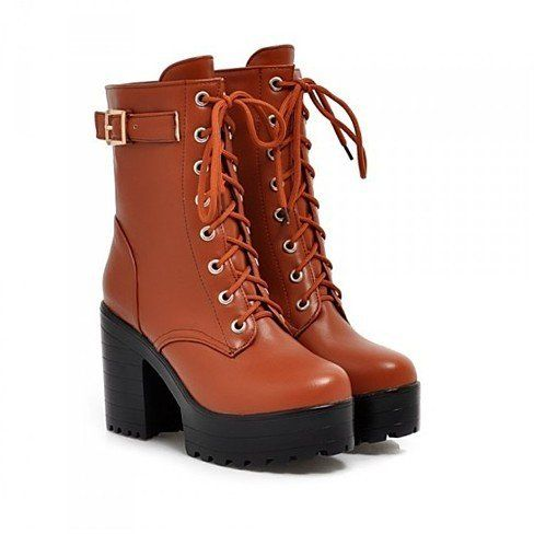 Side Kick Parker Boots - Brown