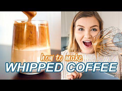 How To Make Whipped Coffee Tik Tok Whipped Coffee Tiktok Dalgona Coffee Recipe Tiktok Coffee Youtube Coffee Recipes Ice Coffee Recipe Coffee