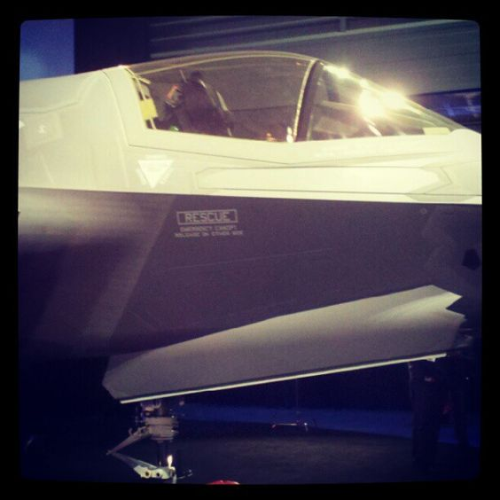 The UK officially accepted its first Lightening II Fighter Jet in Fort Worth, TX today.