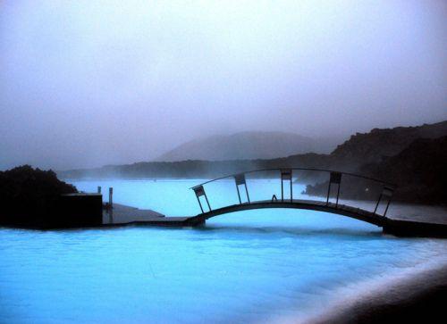 Blue Lagoon:  Blue water in Grindavik, Iceland @ http://flic.kr/p/4iC9H5