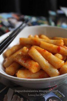 Tteokbokki Masakan Korea Resep Makanan Korea Resep Masakan Korea