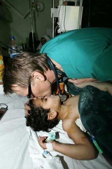 Dr.Mads Gilbert..volunteer norwegian surgeon..all respect