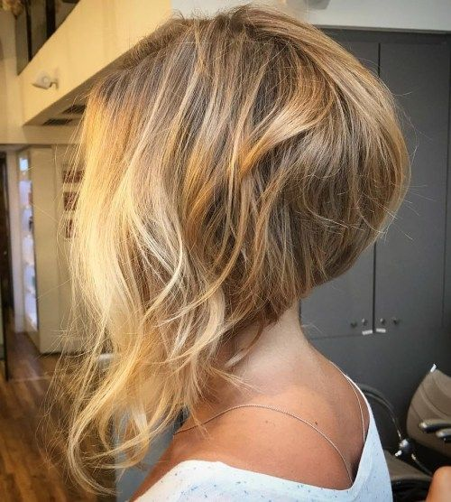 50 Trendy Inverted Bob Haircuts Thick Hair Styles Hair Styles Angled Bob Hairstyles