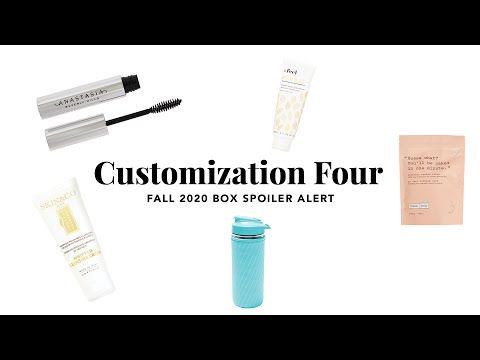Fabfitfun Com 2020 Fall Box Spoiler Alert Customization 4 Tv Commercial 2020 In 2020 Tv Commercials Spoiler Alert Custom
