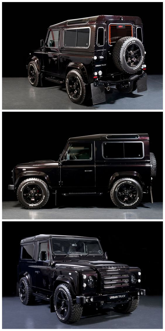 Land Rover Defender 90 - Urban Truck Ultimate Edition.  Thanks for visiting my 'Time Machine' Boards guys! (J Train)