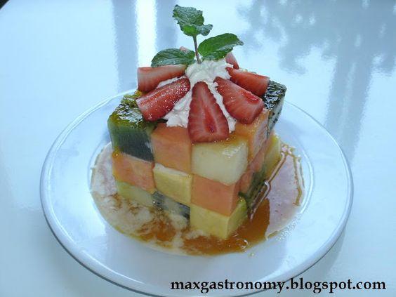 Max Gastronomy: Receita No. 1 - Cubo Mágico de Frutas.
