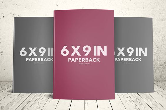 6x9 book template