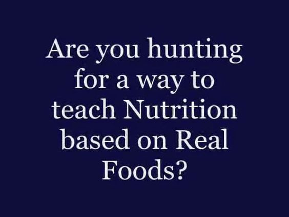 Real Food Nutrition & Health Textbook