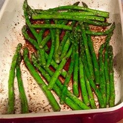 This garlicky red potato and asparagus dish is easy and delicious served either hot or cold.  Rosemary and thyme give it a sophisticated flavor. Try adding a little chopped red pepper, too...yum!