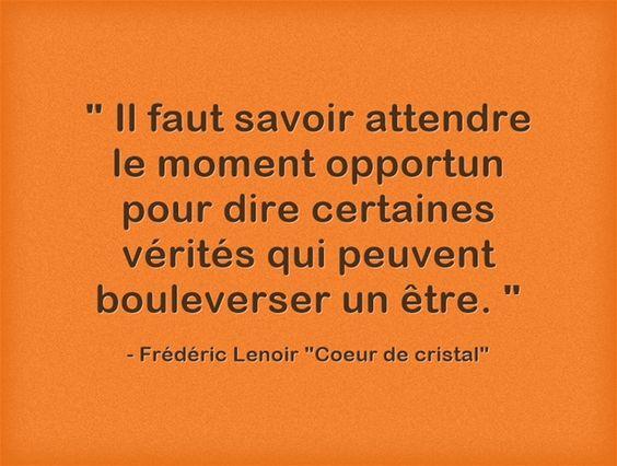 """Frédéric Lenoir """"Coeur de cristal"""""""