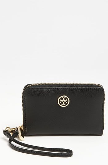 Tory Burch 'Robinson' Smart Phone Wallet