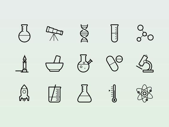 Science! By @Tony Thomas  http://medialoot.com/item/vector-science-icons/