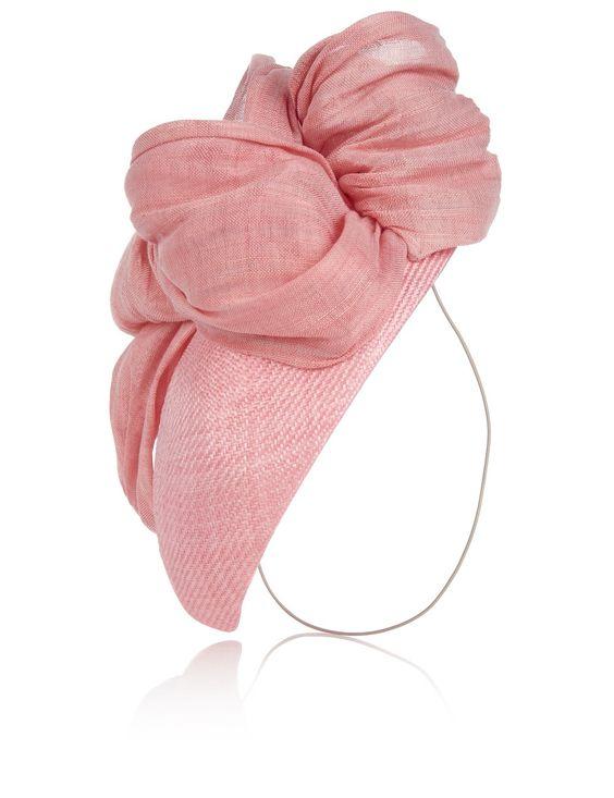 Pink Conch Beret Headpiece | Vivien Sheriff | Avenue32