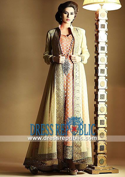 Designer Zahra Ahmad Latest Party wear 2014 in New York Shop ...