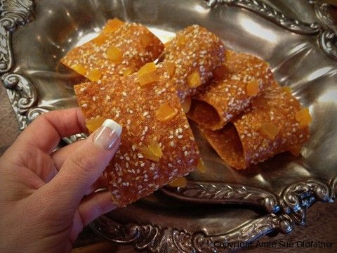 Honey Apricot Sesame Fruit Leather ~ Gourmet Edition ...
