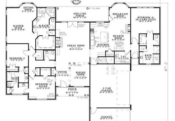 House Plans Mothers And In Laws On Pinterest