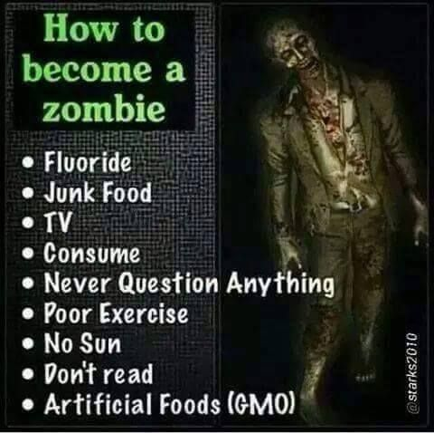 How to become a #zombie