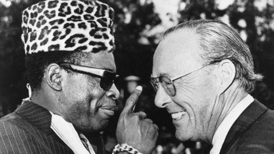 Mobutu Sese Seko of Congo