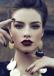 dark red lipstick - Google Search