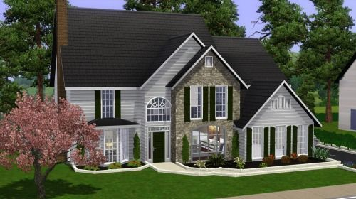 12++ Sims 3 large family home image ideas