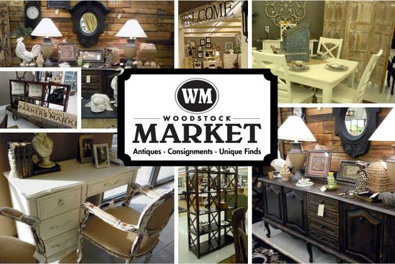 Woodstock Market: Consignment Store And Outdoor Market Woodstock, GA. | For  The Home | Pinterest | Woodstock Ga, Woodstock And Wonderful Places