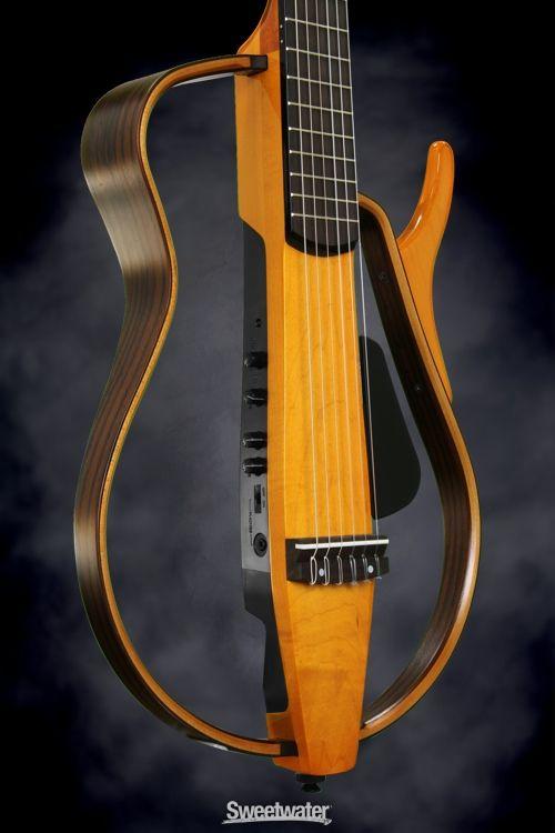 Yamaha slg130nw silent guitar nylon string wood frame for Yamaha silent guitar slg130nw