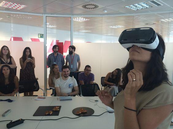 Masterclass de realidad virtual con Edgar Martín-Blas, pionero y referente en la creación de contenidos y experiencias inmersivas para marcas.