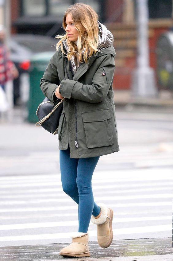 Sienna Miller Ugg Boots