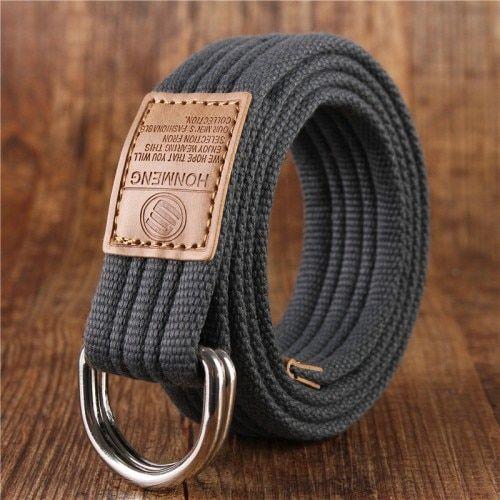 Unique Designer Belts For Men Mens Canvas Belts Military Belt