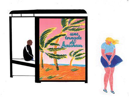 illustrations pour la revue Influencia
