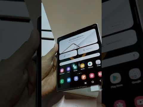 Samsung Galaxy Z Fold 2 Just A Demo Youtube Samsung Galaxy Galaxy Samsung