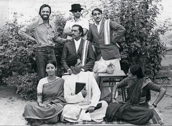 Shyam Benegal with the best smile.