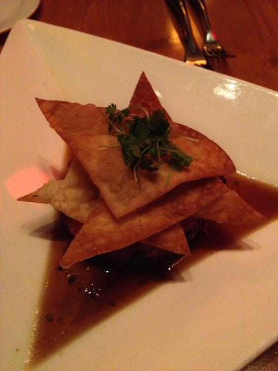 Tuna tartare from Michael Jordan's Steakhouse at Mohegan Sun.