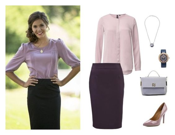 """Purple office outfit"" by olga-kim-b on Polyvore featuring мода"
