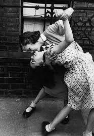 Back yard dancing,1940s