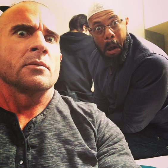 @rockmonddunbar ...hanging out with the boys again is #awesome we are all a little older little wiser little #uglier  Hahah.