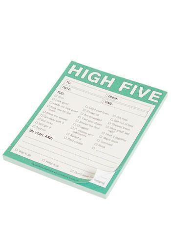 High Five Notepad - modcloth.com