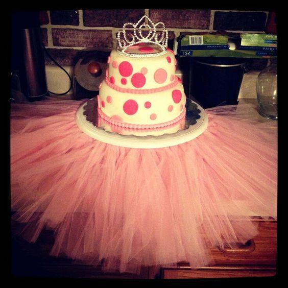 Aprende como hacer un tutú para colocarlo en la base de un pastel o torre de cupcakes y lograr que se vea espectacular y totalmente llamativo. Materiales: rollos de tul de tu color favorito, un e…