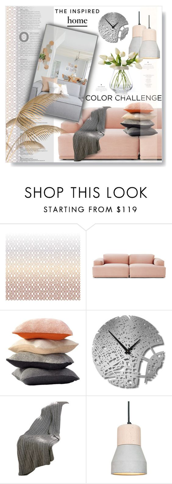 """""""Inspired + Home..."""" by desert-belle ❤ liked on Polyvore featuring interior, interiors, interior design, home, home decor, interior decorating, Muuto, Sefte, Dot & Bo and polyvoreeditorial"""