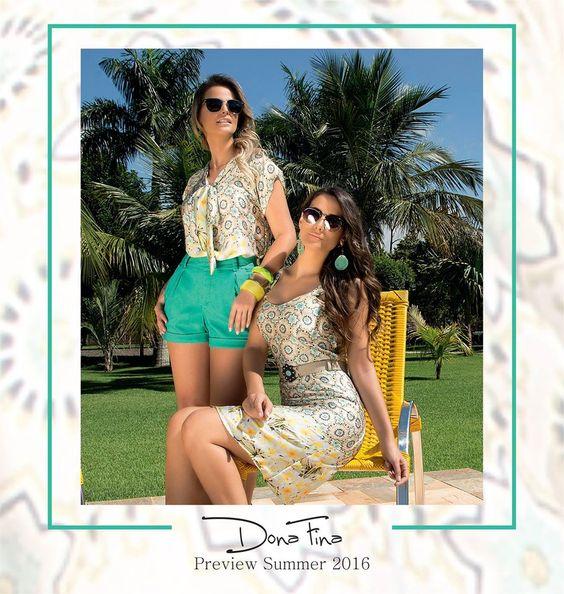A coleção de Primavera/Verão Dona Fina está repleta de estampas exclusivas que transformam completamente o seu styling na estação mais quente do ano. #donafina #euamodonafina #previewsummer #springsummer