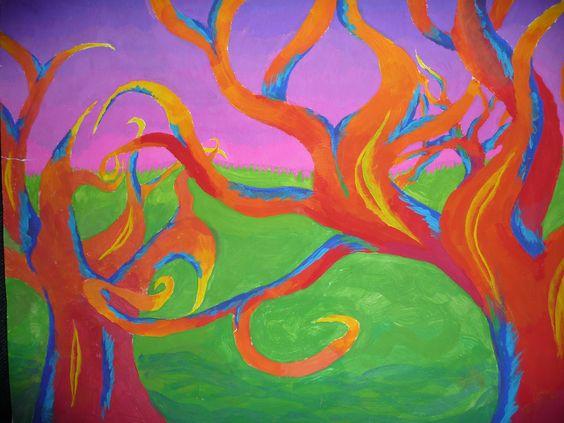 Tes met and google on pinterest - Kleuren schilderij eetkamer ...