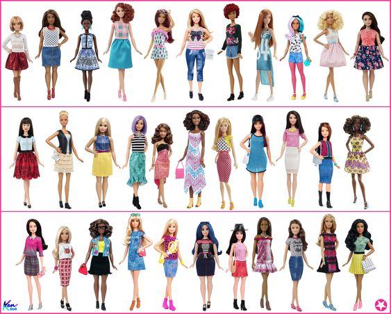 2016 Barbie Fashionistas Collection Dolls Barbie Fashionista Dolls Barbie Fashionista Barbie