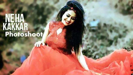 Neha Kakkar Behind The Scenes Photoshoot By Deepika S Deep Clicks Neha Kakkar Photoshoot Video Photoshoot