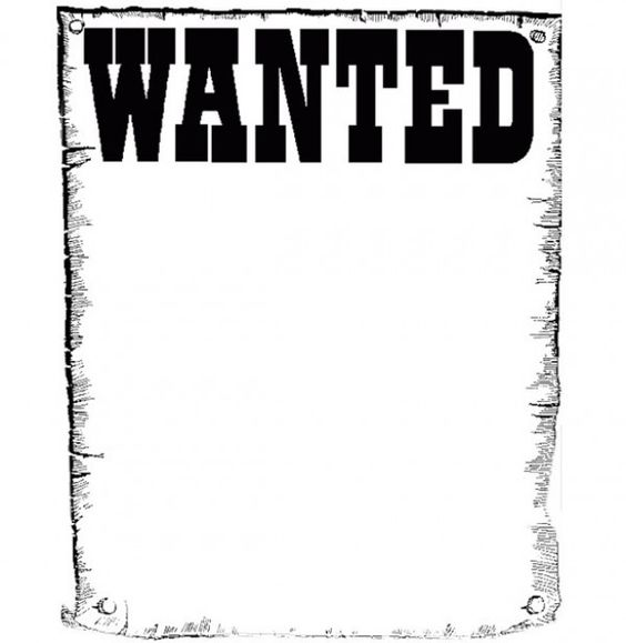 Project 3. Wanted Poster Template-Endangered Animals Project ...