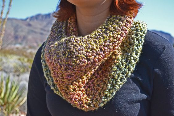 Chunky neck warmer.. the cozy cowl