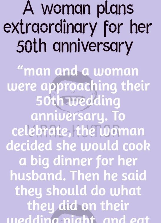 50th Wedding Anniversary Humor : wedding, anniversary, humor, Husband, Jokes