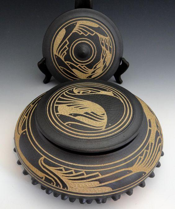 Ceremonial Acorn Jar: Charles Smith (artist). | home | Pinterest ...