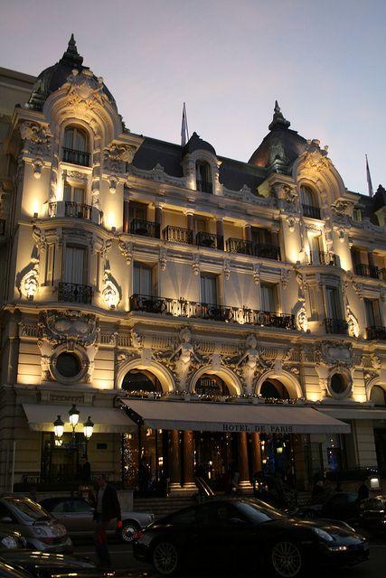 Hotel De Paris De Paris And Paris At Night On Pinterest