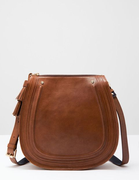The Maxi Saddle Bag AM262 Cross Body Bags at Boden